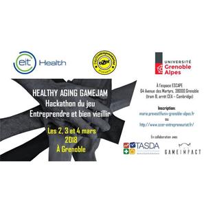 Healthy Ageing GameJam : Hackathon du jeu, Thème Entrepreneuriat et silver économie @ Espace ESCAPE | Grenoble | Auvergne-Rhône-Alpes | France