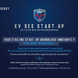 Le XV des start-up ! @ Stade Lesdiguières | Grenoble | Auvergne-Rhône-Alpes | France