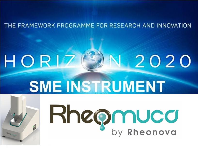Horizon 2020 pour Rheonova